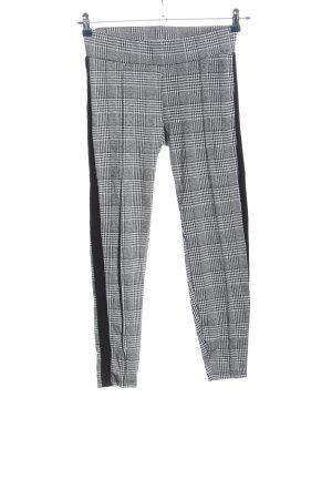Amisu 7/8 Length Trousers check pattern business style