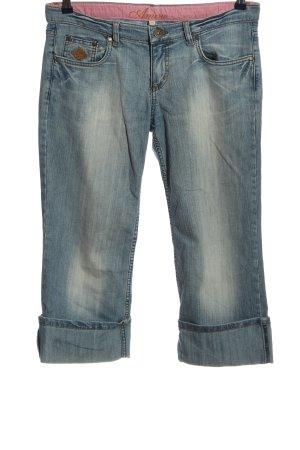 Amisu 7/8 Jeans blau Casual-Look