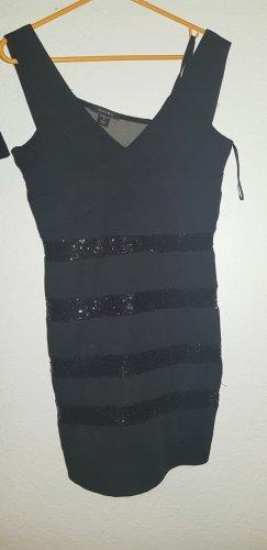 Amisu Robe de cocktail noir