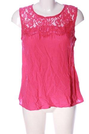 Amisu Mouwloze blouse roze casual uitstraling