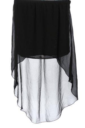 Amisu Asymmetry Skirt black casual look