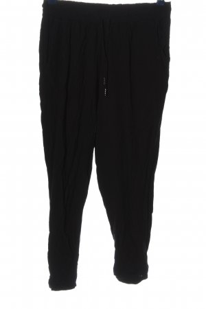 Amisu Baggy Pants schwarz Casual-Look