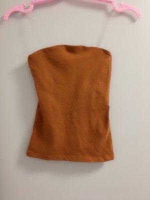 Amisu Top a fascia arancione scuro