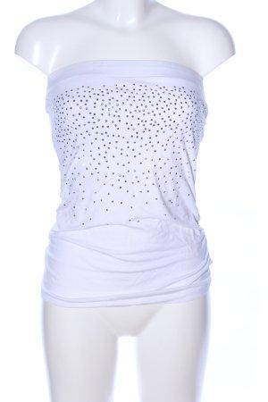 Amisu Haut bandeau blanc style décontracté