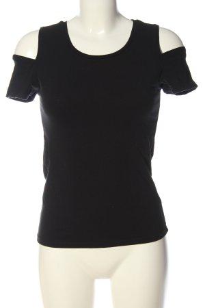 Amisu Basic Shirt black casual look
