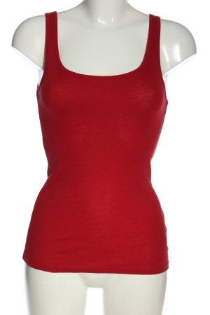 Amisu Basic topje rood casual uitstraling