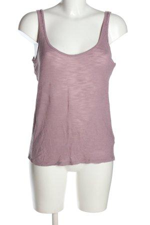 Amisu Basic Top pink Casual-Look