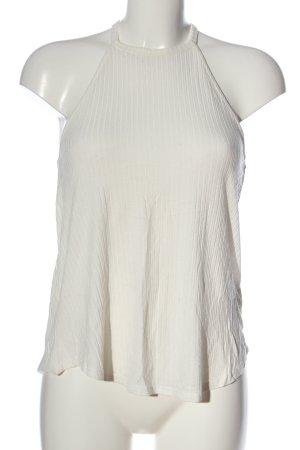 Amisu Basic Top white casual look