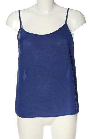 Amisu Basic Top blau Casual-Look