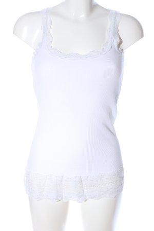 Amisu Basic Top weiß Casual-Look