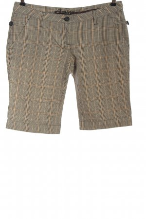 Amisu Bermudas check pattern casual look