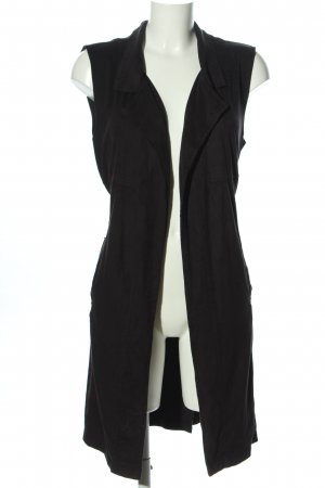 Amisu Biker Vest black casual look