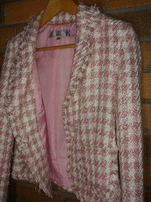 Amisu Korte blazer rosé-lichtroze