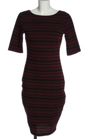 Amisu Pencil Dress red-black allover print elegant