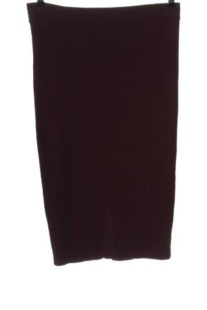 Amisu Ołówkowa spódnica czerwony W stylu casual