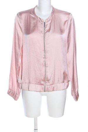 Amisu Blouson rose style décontracté