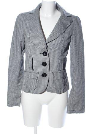 Amisu Blouson light grey check pattern business style