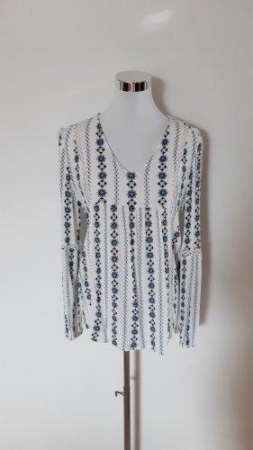 Amisu Tunique-blouse multicolore