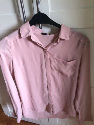 Amisu Cols de blouses or rose-rose chair