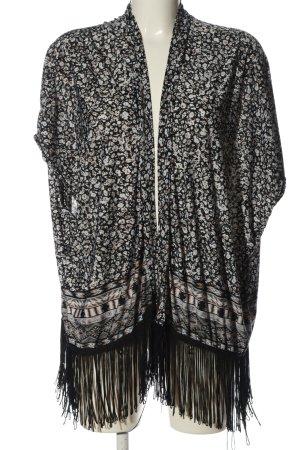 Amisu Blouse Jacket allover print casual look