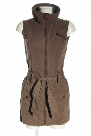 Amisu Cargo Dress brown casual look