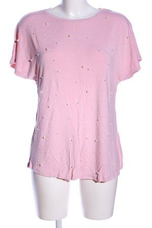 Amisu Blusentop pink Business-Look