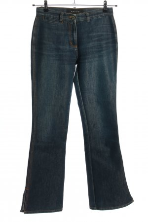 Amisu Boot Cut Jeans blau Casual-Look