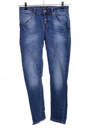 Amisu Jeans boyfriend bleu style décontracté