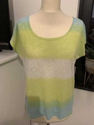 Amisu Batik Shirt white-green