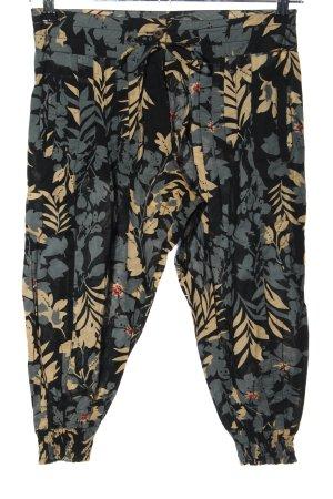 Amisu Spodnie Capri Na całej powierzchni W stylu casual