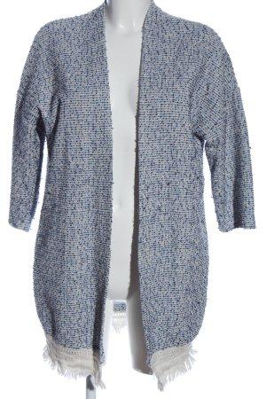 Amisu Cardigan weiß-blau Casual-Look