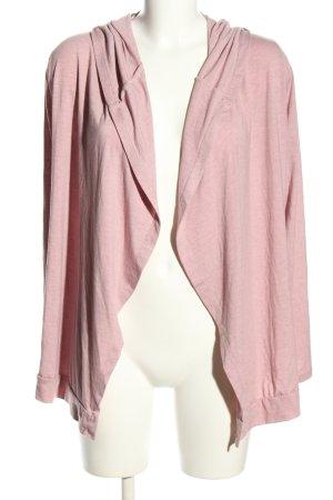 Amisu Cardigan pink flecked casual look