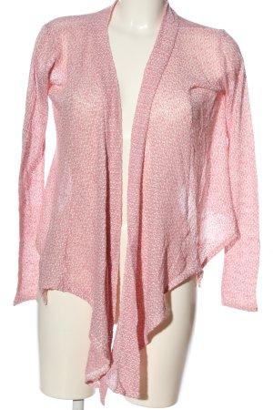 Amisu Cardigan pink meliert Casual-Look