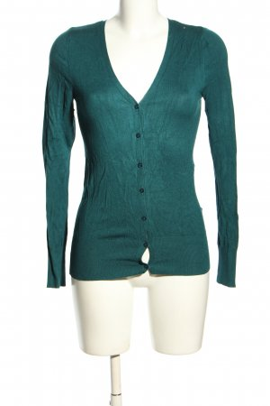 Amisu Cardigan grün Casual-Look