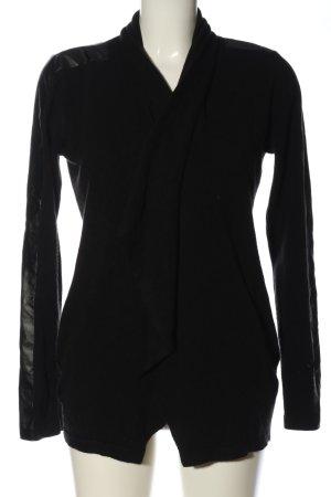 Amisu Cardigan black casual look