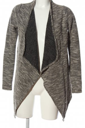 Amisu Cardigan bronzefarben-wollweiß meliert Casual-Look