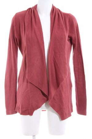 Amisu Cardigan rot Casual-Look
