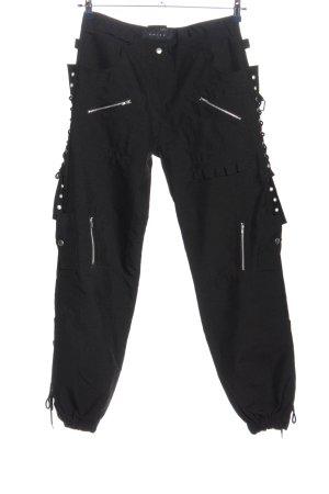 Amisu Pantalone cargo nero stile casual