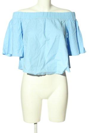 Amisu Carmen-Bluse blau Casual-Look