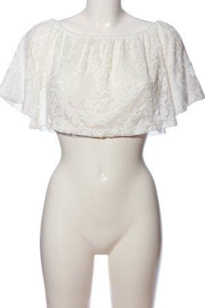 Amisu Lace Blouse white casual look