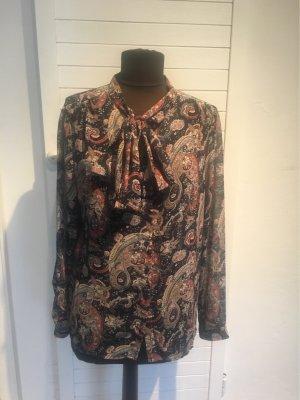 Amisu Chiffon-Bluse mit Schluppe