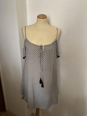 Amisu Cold Shoulder Tunika Kleid Gr 34