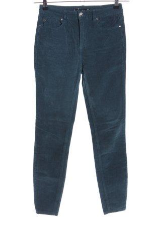 Amisu Cordhose blau Casual-Look