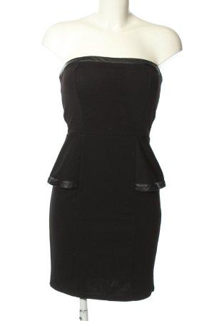 Amisu Vestido corsage negro look casual