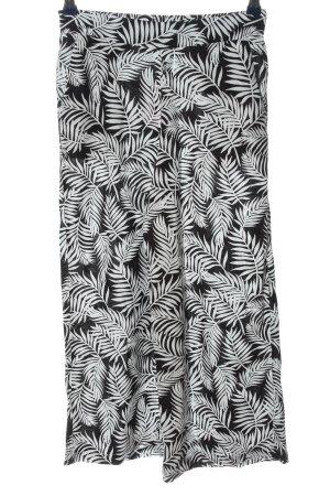 Amisu Kuloty czarny-biały Na całej powierzchni W stylu casual