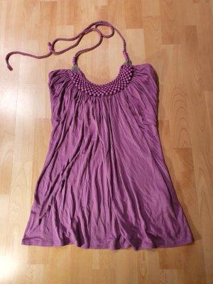 Amisu Haltertop violet