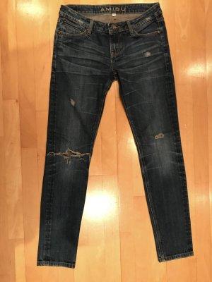 Amisu Dark Blue Jeans