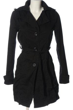 Amisu Duffle-coat noir style décontracté
