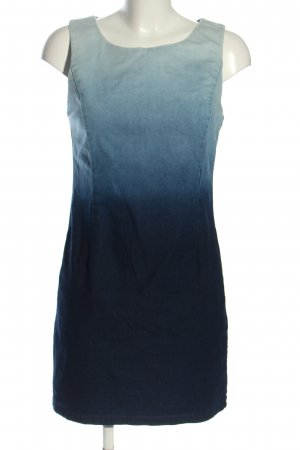 Amisu Etuikleid blau Farbverlauf Casual-Look