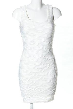 Amisu Robe fourreau blanc élégant